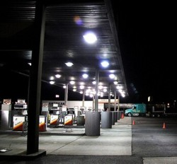 Trucks-refueling-at-night