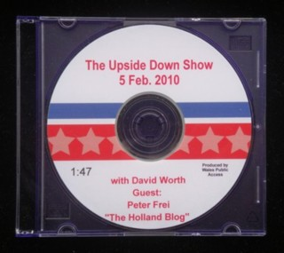 """DVD-with-Dave-Wort's-Upside-Down-Show."""