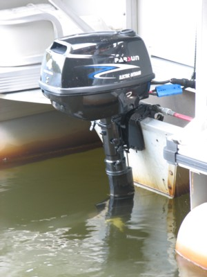 Tom Kenney's Electric Outboard Motor